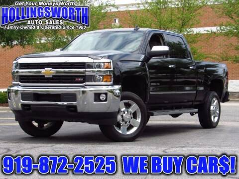 2016 Chevrolet Silverado 2500HD for sale at Hollingsworth Auto Sales in Raleigh NC