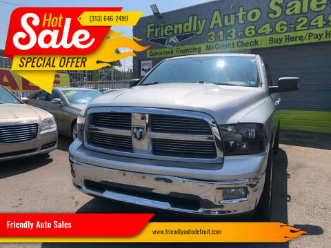 2012 RAM Ram Pickup 1500 for sale at Friendly Auto Sales in Detroit MI
