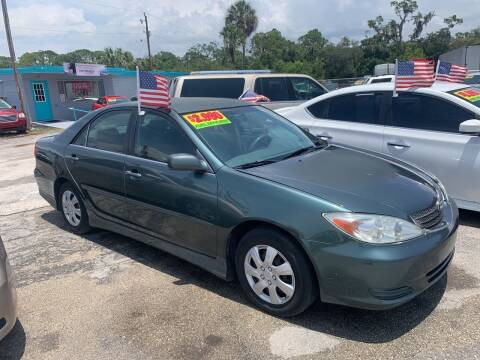 2002 Toyota Camry for sale at EXECUTIVE CAR SALES LLC in North Fort Myers FL