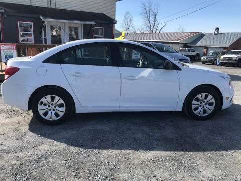 2015 Chevrolet Cruze for sale at PENWAY AUTOMOTIVE in Chambersburg PA