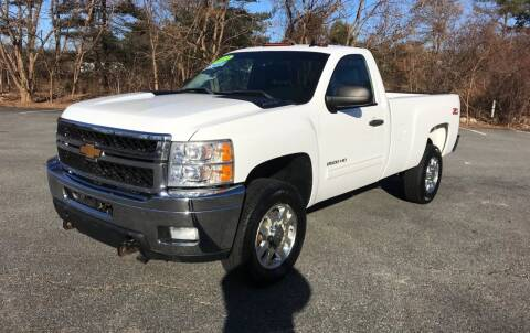 2013 Chevrolet Silverado 2500HD for sale at Westford Auto Sales in Westford MA