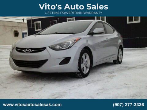 2013 Hyundai Elantra for sale at Vito's Auto Sales in Anchorage AK