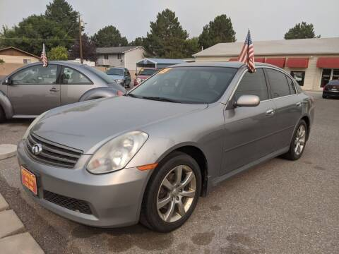 2005 Infiniti G35 for sale at Progressive Auto Sales in Twin Falls ID