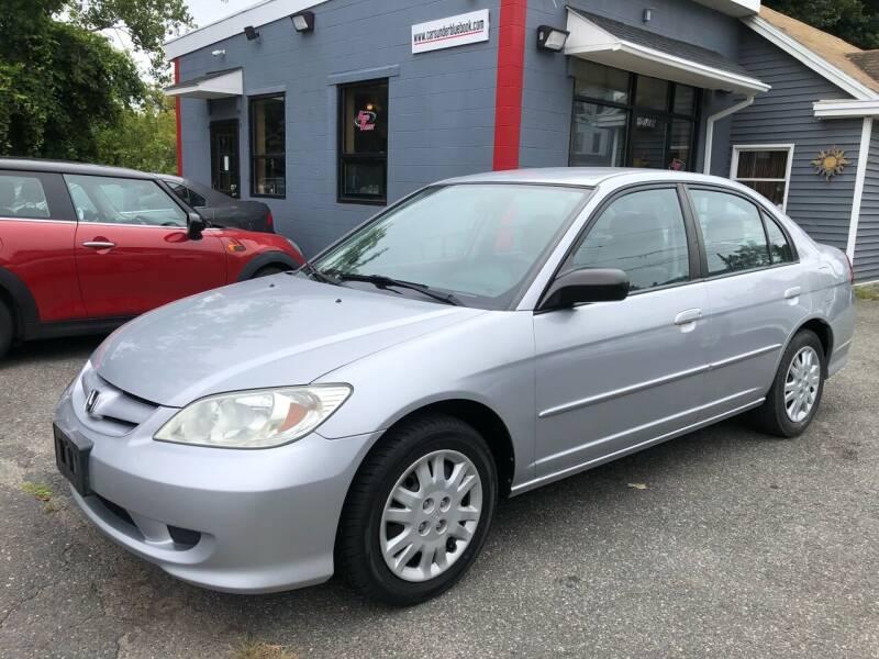 2005 Honda Civic for sale at Auto Kraft in Agawam MA