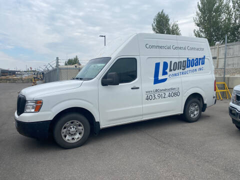 2012 Nissan NV Cargo for sale at Truck Buyers in Magrath AB