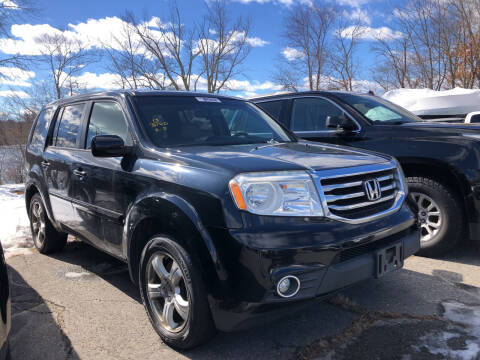 2013 Honda Pilot for sale at Top Line Import of Methuen in Methuen MA