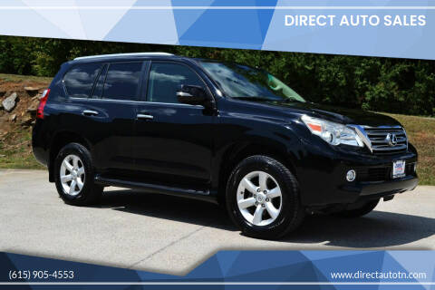 2011 Lexus GX 460 for sale at Direct Auto Sales in Franklin TN