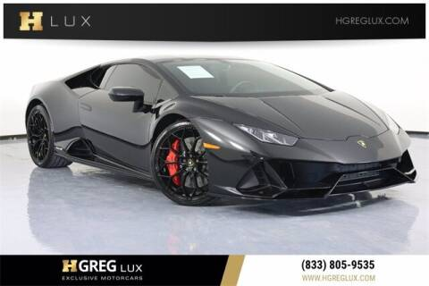 2020 Lamborghini Huracan for sale at HGREG LUX EXCLUSIVE MOTORCARS in Pompano Beach FL