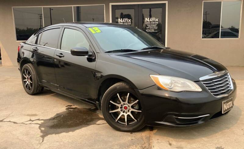 2013 Chrysler 200 for sale at AUTO NATIX in Tulare CA