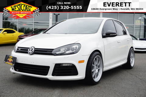 2013 Volkswagen Golf R for sale at West Coast Auto Works in Edmonds WA