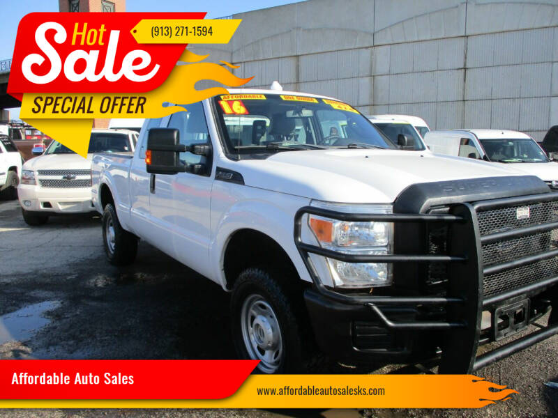 2016 Ford F-250 Super Duty for sale at Affordable Auto Sales in Olathe KS