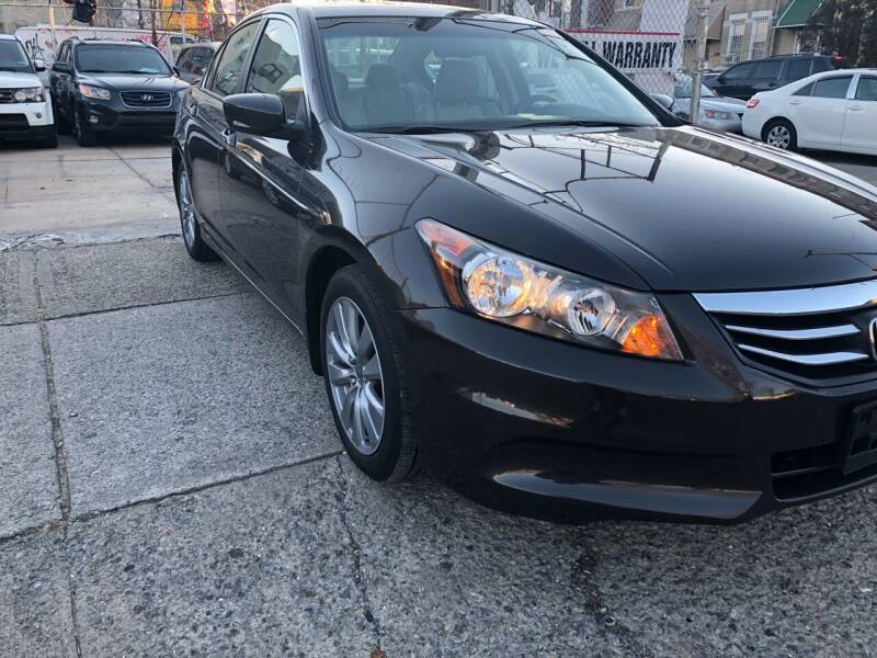 2011 Honda Accord for sale at Luxury 1 Auto Sales Inc in Brooklyn NY
