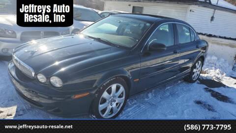 2005 Jaguar X-Type for sale at Jeffreys Auto Resale, Inc in Clinton Township MI