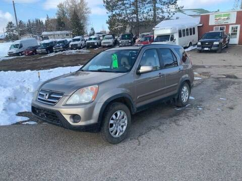 2006 Honda CR-V for sale at Four Boys Motorsports in Wadena MN