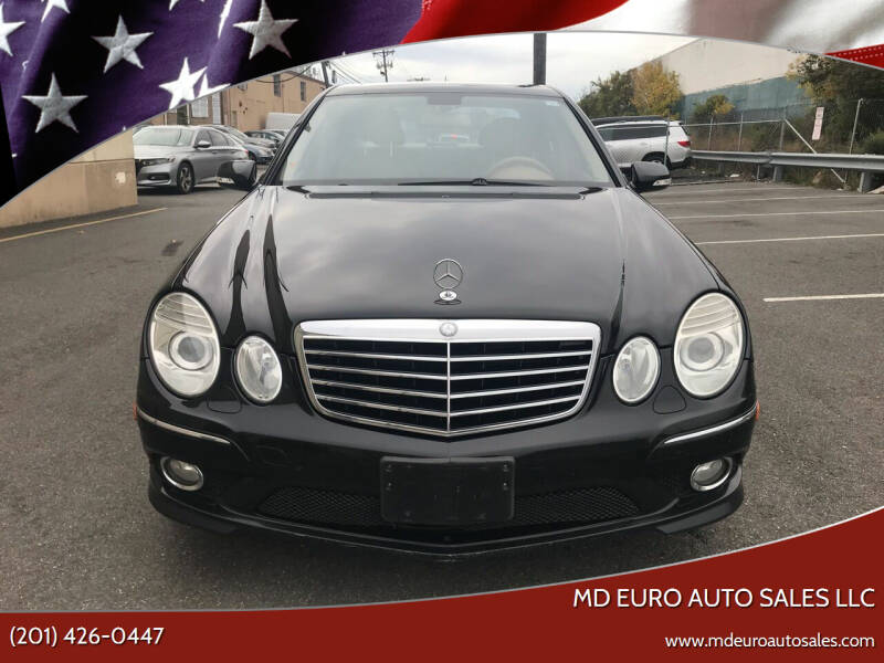 2008 Mercedes-Benz E-Class for sale at MD Euro Auto Sales LLC in Hasbrouck Heights NJ