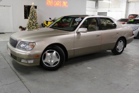 1998 Lexus LS 400 for sale at R n B Cars Inc. in Denver CO