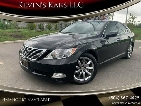 2008 Lexus LS 460 for sale at Kevin's Kars LLC in Richmond VA