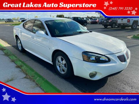 2008 Pontiac Grand Prix for sale at Great Lakes Auto Superstore in Waterford Township MI
