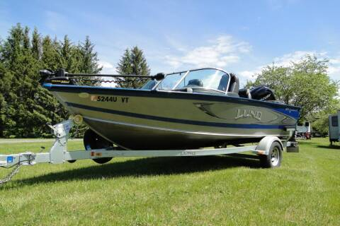 2016 LUND 1875 CROSSOVER XS for sale at Valley Motor Sales in Bethel VT