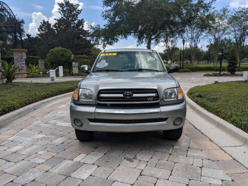 2004 Toyota Tundra for sale at M&M and Sons Auto Sales in Lutz FL