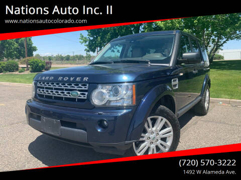 2011 Land Rover LR4 for sale at Nations Auto Inc. II in Denver CO