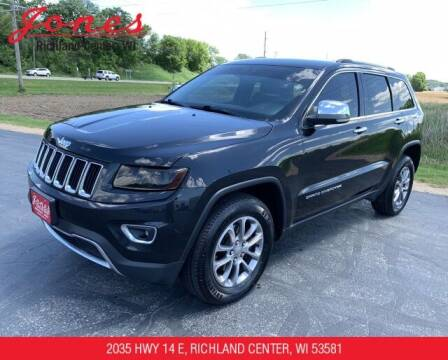 2014 Jeep Grand Cherokee for sale at Jones Chevrolet Buick Cadillac in Richland Center WI