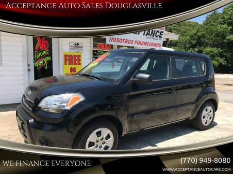 2011 Kia Soul for sale at Acceptance Auto Sales Douglasville in Douglasville GA
