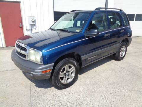 2004 Chevrolet Tracker for sale at Lewin Yount Auto Sales in Winchester VA