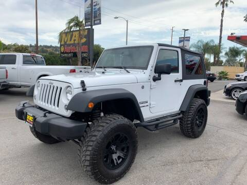 2016 Jeep Wrangler for sale at Mac Auto Inc in La Habra CA