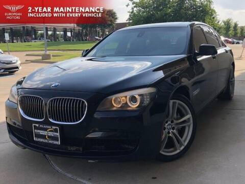 2012 BMW 7 Series for sale at European Motors Inc in Plano TX
