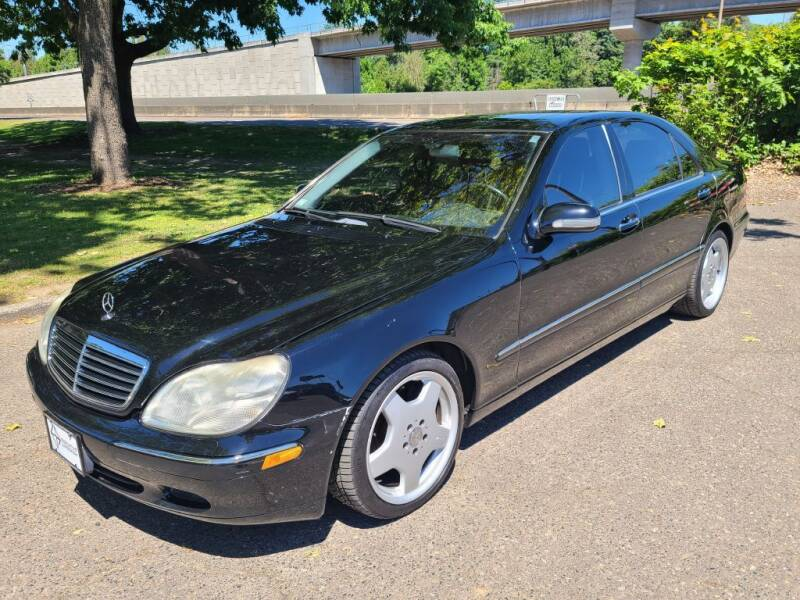 2002 Mercedes-Benz S-Class for sale at EXECUTIVE AUTOSPORT in Portland OR