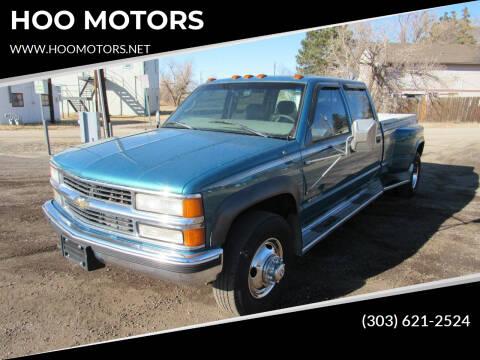 1997 Chevrolet C/K 3500 Series for sale at HOO MOTORS in Kiowa CO