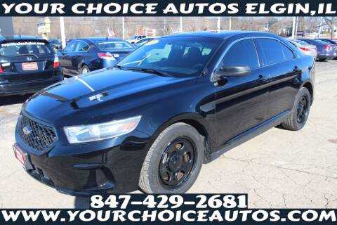 2014 Ford Taurus for sale at Your Choice Autos - Elgin in Elgin IL