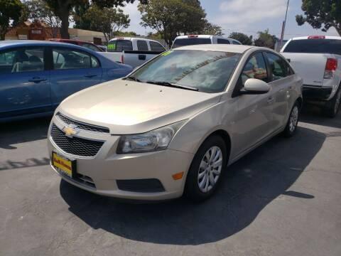 2011 Chevrolet Cruze for sale at L & M MOTORS in Santa Maria CA