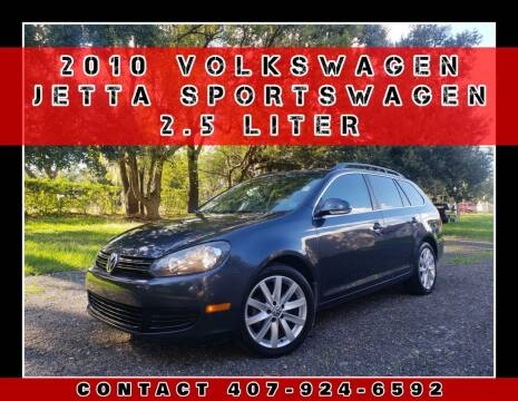 2010 Volkswagen Jetta for sale at AFFORDABLE ONE LLC in Orlando FL