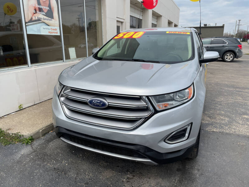 2017 Ford Edge for sale at National Auto Sales Inc. - Hazel Park Lot in Hazel Park MI