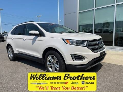 2015 Ford Edge for sale at Williams Brothers - Pre-Owned Monroe in Monroe MI