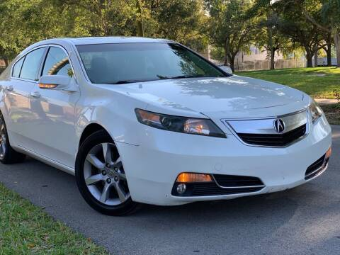 2013 Acura TL for sale at HIGH PERFORMANCE MOTORS in Hollywood FL