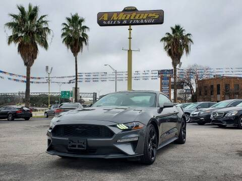 2018 Ford Mustang for sale at A MOTORS SALES AND FINANCE in San Antonio TX
