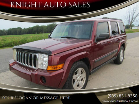 2007 Jeep Commander for sale at KNIGHT AUTO SALES in Stanton MI