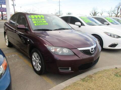 2008 Mazda MAZDA3 for sale at CAR SOURCE OKC - CAR ONE in Oklahoma City OK