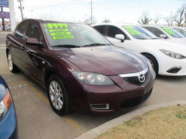 2008 Mazda MAZDA3 for sale at CAR SOURCE OKC - CAR ONE in Oklahoma City OK
