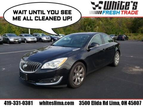 2016 Buick Regal for sale at White's Honda Toyota of Lima in Lima OH