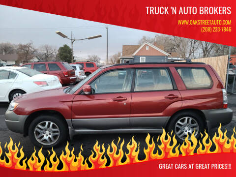 2006 Subaru Forester for sale at Truck 'N Auto Brokers in Pocatello ID