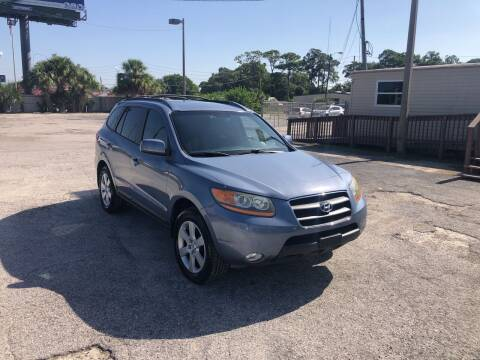 2009 Hyundai Santa Fe for sale at Friendly Finance Auto Sales in Port Richey FL