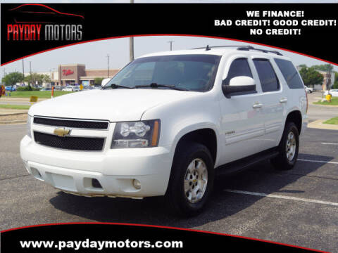 2011 Chevrolet Tahoe for sale at Payday Motors in Wichita KS