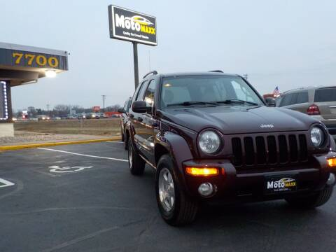 2004 Jeep Liberty for sale at MotoMaxx in Spring Lake Park MN