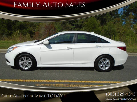 2014 Hyundai Sonata for sale at Family Auto Sales in Rock Hill SC