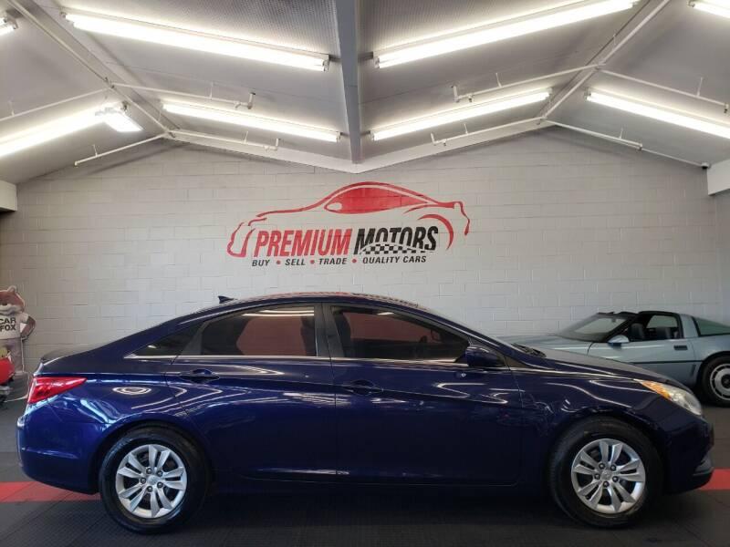 2012 Hyundai Sonata for sale at Premium Motors in Villa Park IL