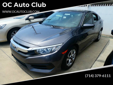 2017 Honda Civic for sale at OC Auto Club in Midway City CA
